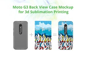 Moto G3 Case Design Mockup