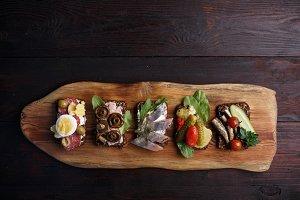 Smorrebrod-open sandwiches