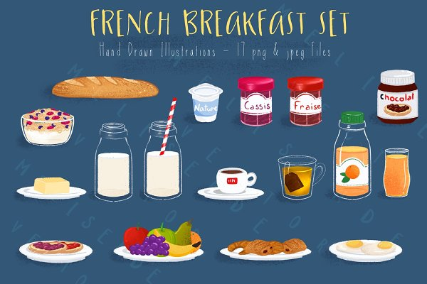 French Breakfast Set