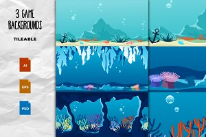 Game Backgrounds - Underwater