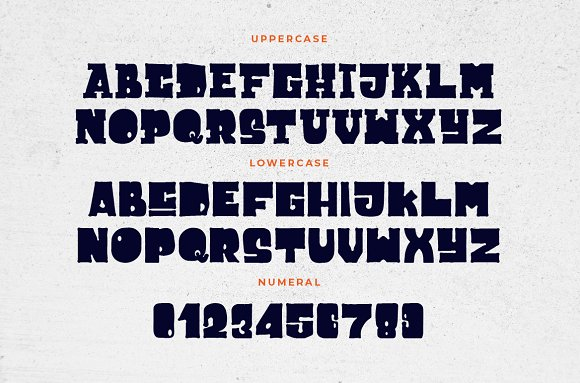 Cuppakabra Typeface + Bonus in Display Fonts - product preview 1