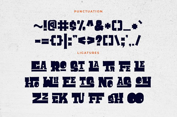 Cuppakabra Typeface + Bonus in Display Fonts - product preview 2