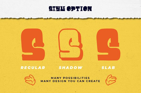 Cuppakabra Typeface + Bonus in Display Fonts - product preview 3