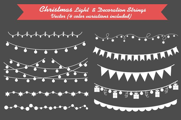 Christmas Light & Decoration string…