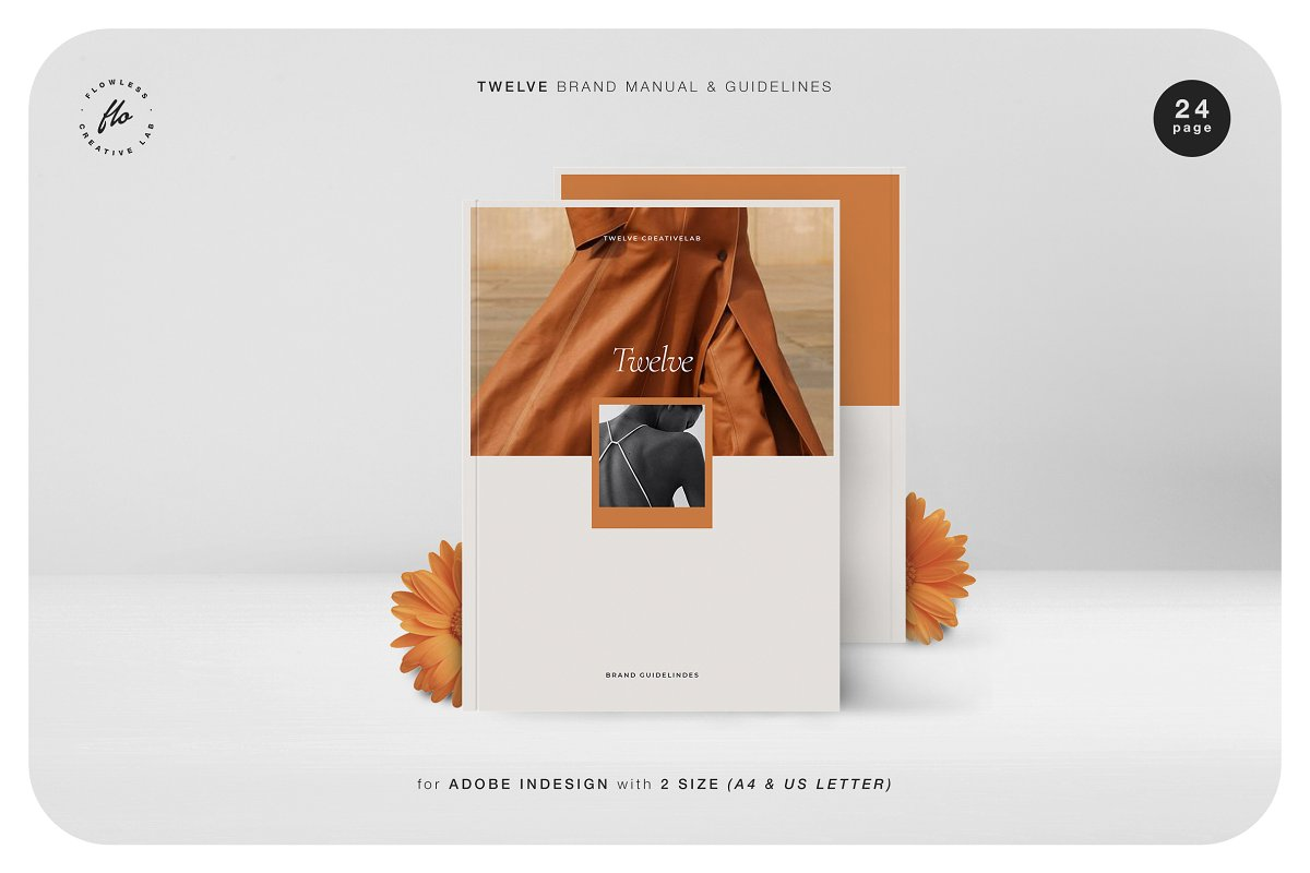 TWELVE Brand Manual & Guidelines