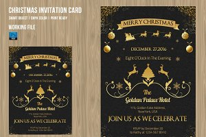 Christmas  Invitation Flyer-V101