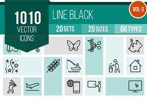 1010 Line Icons (V3)