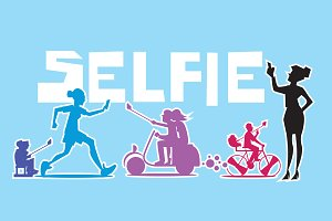 People make extraordinary Selfie