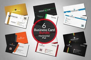 Corporate business cards bundle