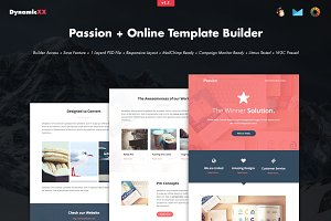 Passion + Online Template Builder