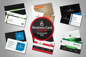 stylish business cards bundle