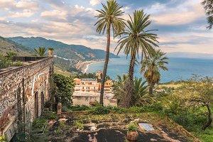 Coastal view italy