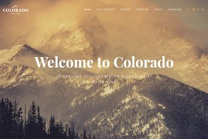 Colorado | Responsive Blog WordPress