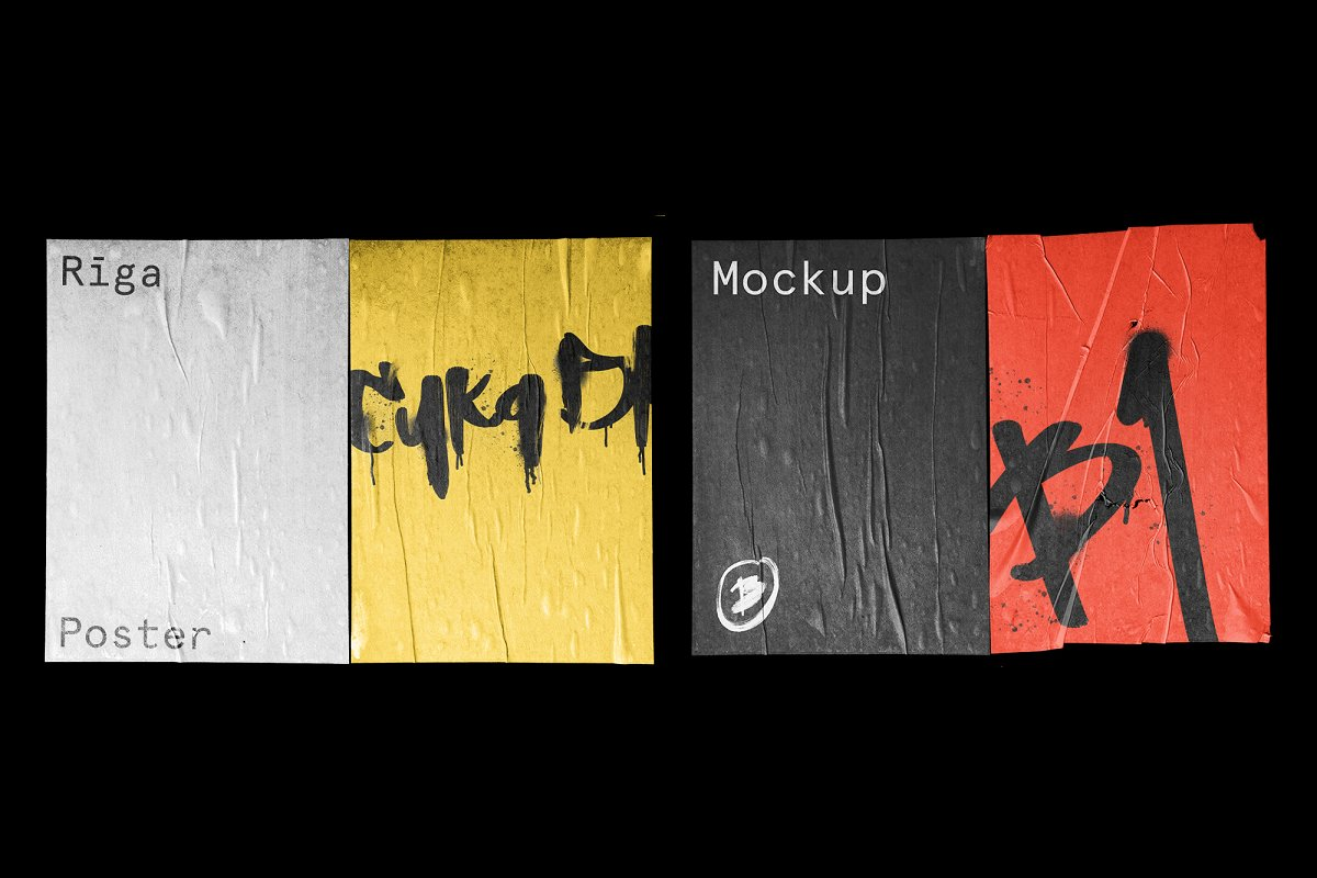 30 Poster Mockup Mega Pack in Templates - product preview 8