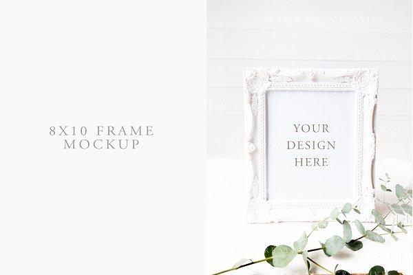 8x10 Wedding Frame Mockup
