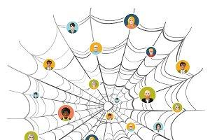 People stuck in complicated net