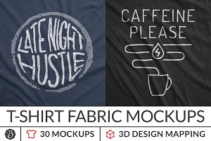 Instant T-Shirt Fabric Mockups