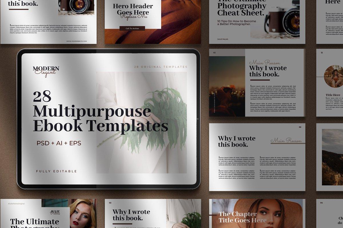 CANVA Modern eBook Templates
