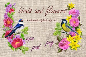 World of birds and flowers Part3