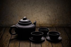 Chinese tea crockery