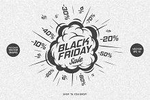 Black Friday Labels Set
