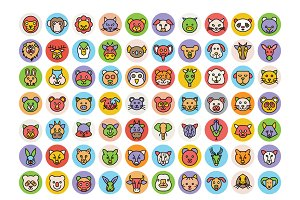 Animals Icons Set