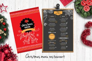 Food menu, restaurant flyer #22