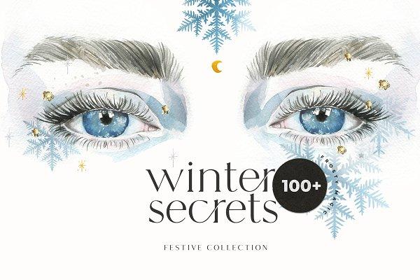 WINTER SECRETS magic Christmas set
