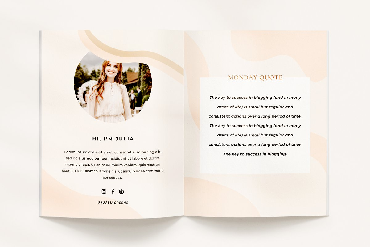 Mulberry Ebook | CANVA in Magazine Templates - product preview 8