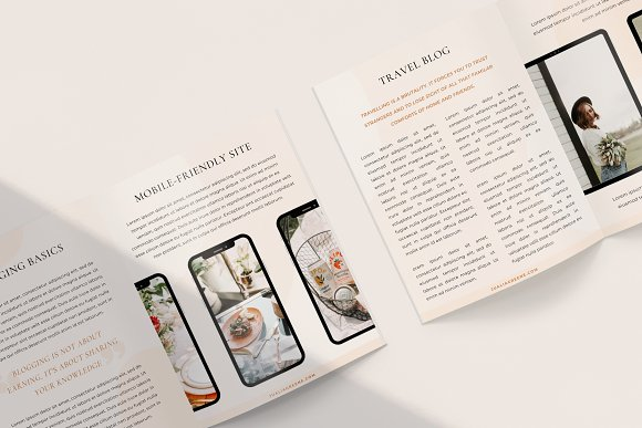 Mulberry Ebook | CANVA in Magazine Templates - product preview 2