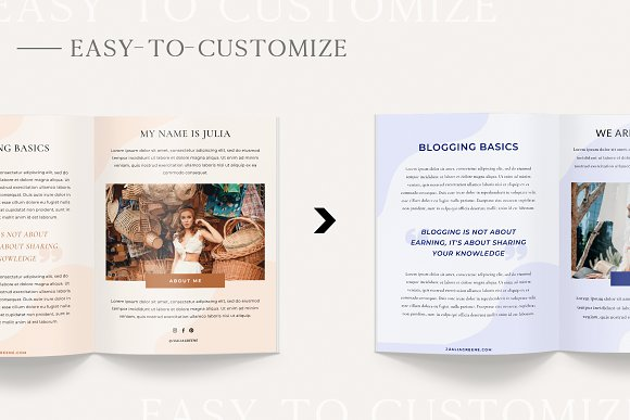 Mulberry Ebook | CANVA in Magazine Templates - product preview 3