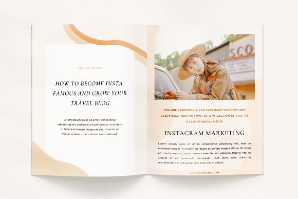 Mulberry Ebook | CANVA in Magazine Templates - product preview 4