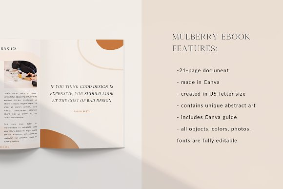 Mulberry Ebook | CANVA in Magazine Templates - product preview 6