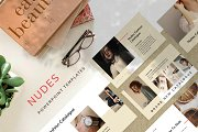 Nudes Fashion PowerPoint Template