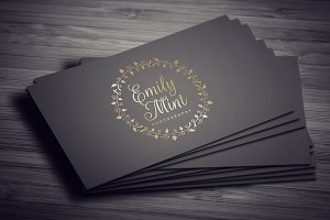 Elegant Wreath Logo