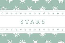 Vintage Star Vector Illustrations