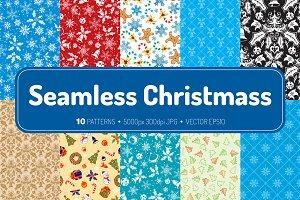 Seamless Christmass Textures