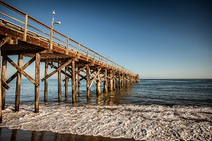 Oceanfront Pier on the Beach