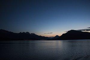 Mountain Twilight  Haines, Alaska