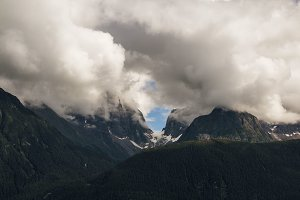 Mountains, Chilkoot Inlet