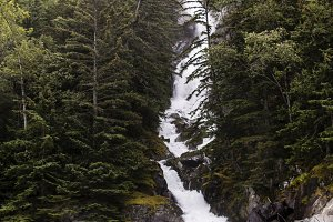 Waterfall, Skagway, Alaska