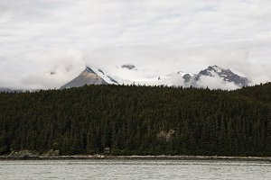 Cabin under the Mountain, Alaska
