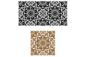 Arabic retro seamless ornament