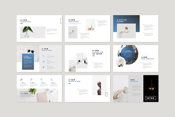 Enter Minimalist PowerPoint Template in PowerPoint Templates - product preview 4