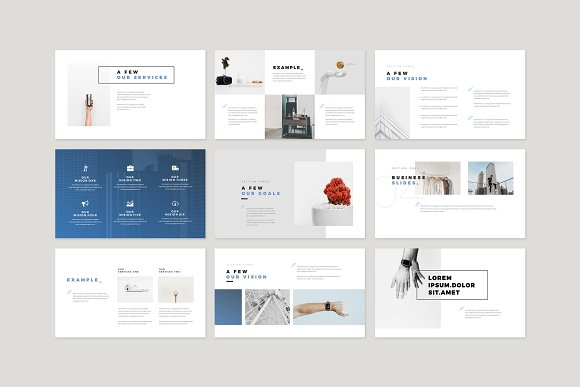 Enter Minimalist PowerPoint Template in PowerPoint Templates - product preview 5