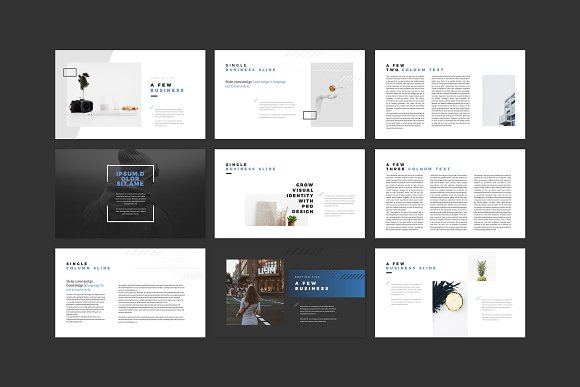 Enter Minimalist PowerPoint Template in PowerPoint Templates - product preview 6