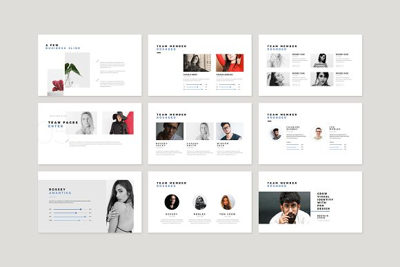 Enter Minimalist PowerPoint Template in PowerPoint Templates - product preview 7