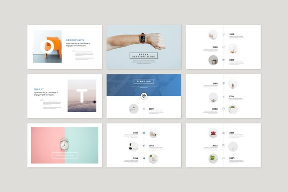 Enter Minimalist PowerPoint Template in PowerPoint Templates - product preview 9
