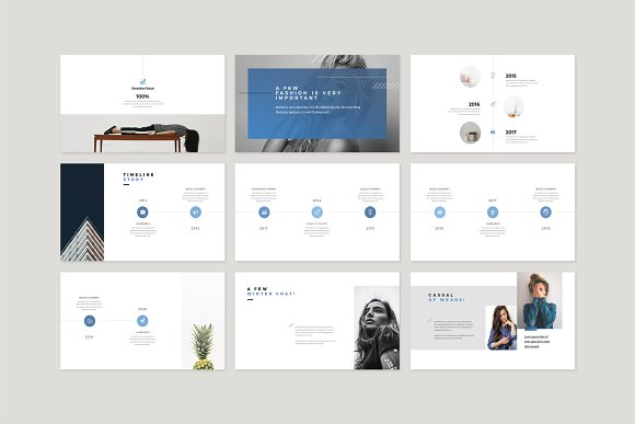 Enter Minimalist PowerPoint Template in PowerPoint Templates - product preview 10
