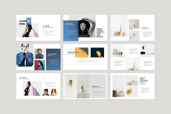 Enter Minimalist PowerPoint Template in PowerPoint Templates - product preview 11